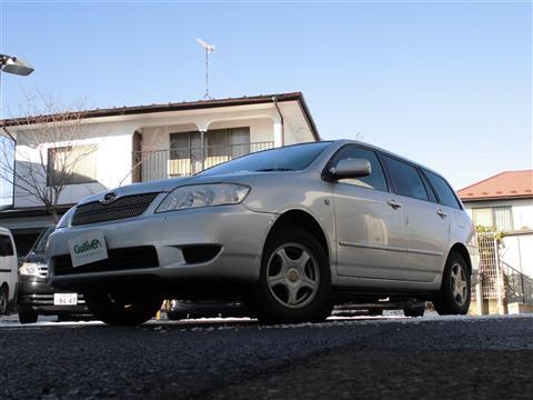 トヨタ カローラ フィールダー
