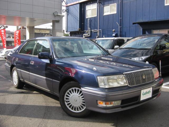 平成7年8月(1995年8月)~平成11年9月(1999年9月) クラウンの車種、平成7年8月