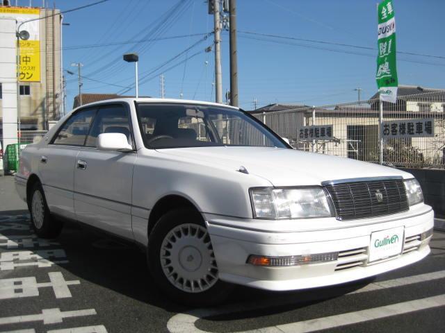 平成7年8月(1995年8月)~平成7年12月(1995年12月) クラウンの車種、平成7年8月