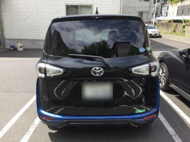 H27(2015年式) トヨタ シエンタ X