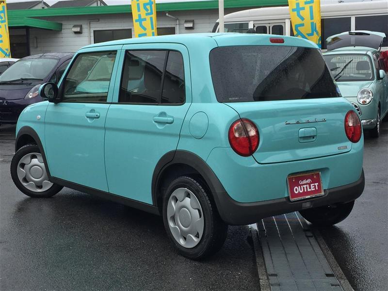 アルトラパン,L オーディオレス仕様車,フレンチミントパールメタリック